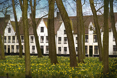 Photograph - Beguinage Of Bruges by Juli Scalzi