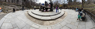 Photograph - behind Alice in Wonderland Pano by Dave Beckerman