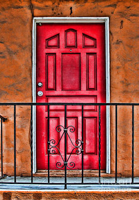Photograph - Behind Door Number 1 By Diana Sainz by Diana Raquel Sainz