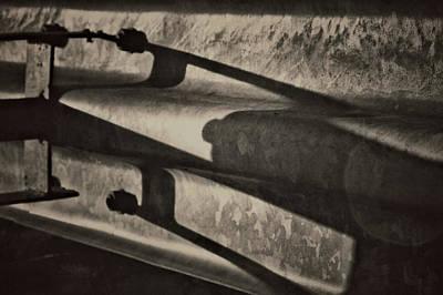 Behind The Barrier Art Print by Odd Jeppesen