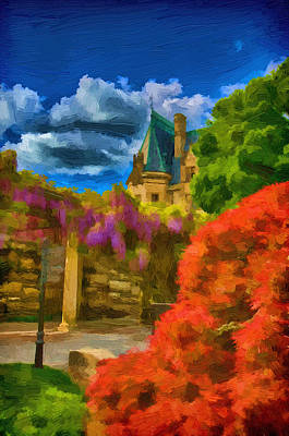 Painting - Behind The Biltmore by John Haldane