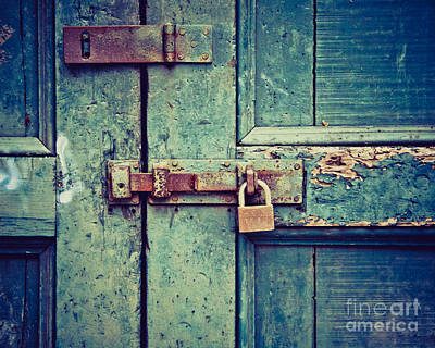 Photograph - Behind The Blue Door by Ana V Ramirez
