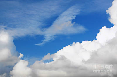 Behind The Clouds Art Print