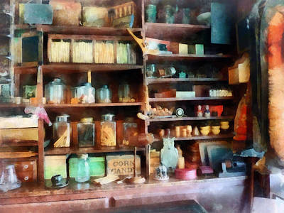 Photograph - Behind The Counter At The General Store by Susan Savad