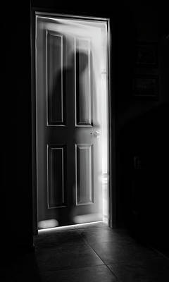 Figures Wall Art - Photograph - Behind The Door by Steve Peterson