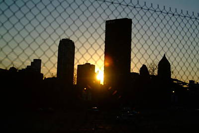 Behind The Fence Art Print by Chris Hayworth