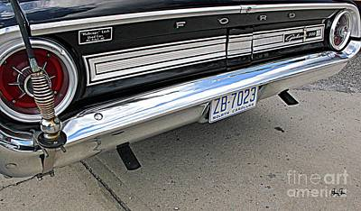 Photograph - Behind The Galaxie by Geri Glavis