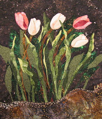 Tapestries Textiles Tapestry - Textile - Behind The Garden Wall by Lynda K Boardman