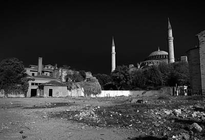 Art Print featuring the photograph Behind The Hagia Sophia by Ross Henton