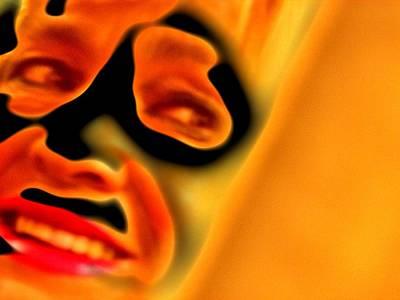 Etc. Digital Art - Behind The Mask by HollyWood Creation By linda zanini