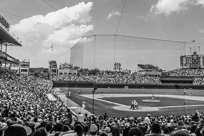 Photograph - Behind The Plate In Wrigley by John McGraw