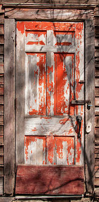 Photograph - Behind The Red Door by Guy Whiteley