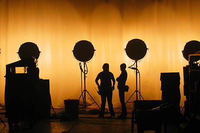 Behind The Scene Photograph - Behind The Scenes by Lesley DeHaan