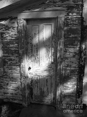 Photograph - Behind The Shaded Door by Deborah Fay