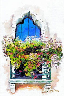 Painting - Bei Fiori by Greg Collins