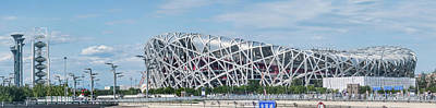 2008 Photograph - Beijing National Stadium, Olympic by Panoramic Images
