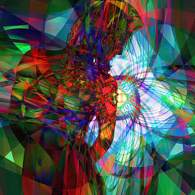 Digital Art - Being Chakra by Kiki Art