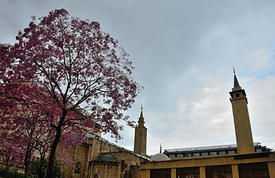 Photograph - Beirut Al Omari Grand Mosque by Steven Richman