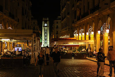 Photograph - Beirut By Night by Dave Hall