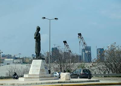 Photograph - Beirut Emigrant Monument by Steven Richman