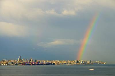 Photograph - Beirut Rainbow 2 by Steven Richman