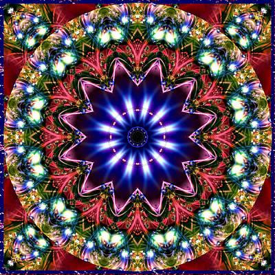 Digital Art - Bejewelled Mandala No 5 by Charmaine Zoe