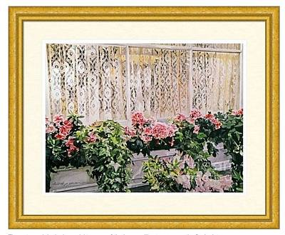Bel-air Azalea Flower Box  Estate Sale Original