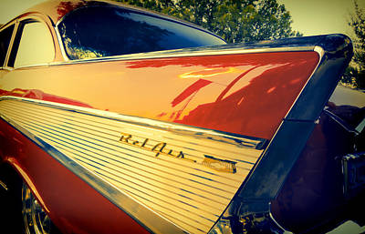 Photograph - Bel Air Classic Car - Photography by Ann Powell