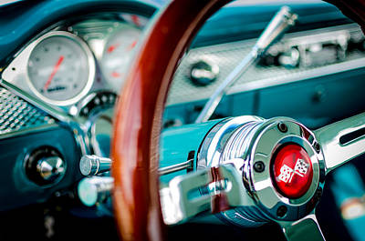 Photograph - Bel Air Dashboard by David Morefield