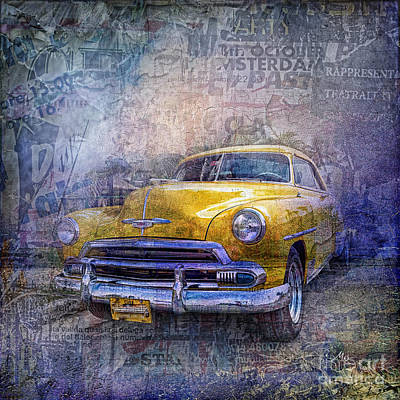 Chev Photograph - Bel Air by Mo T