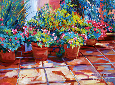 Painting - Bel-air Pots Sketch by David Lloyd Glover