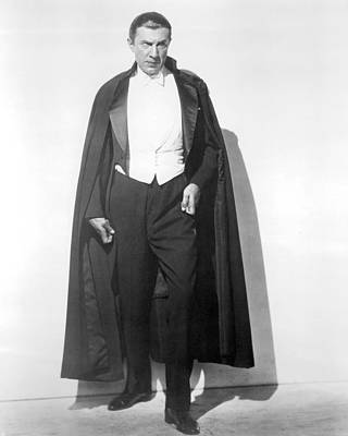 Dracula Photograph - Bela Lugosi In Dracula  by Silver Screen