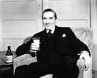 Bela Photograph - Bela Lugosi by Silver Screen