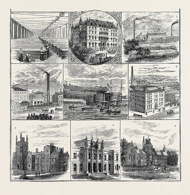 Belfast And Its Industries, Meeting Of The British Art Print