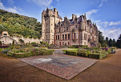 Bench Photograph - Belfast Castle by Marcia Colelli