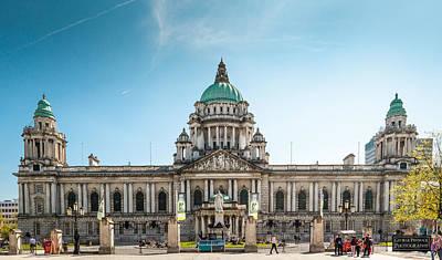 Photograph - Belfast City Hall by George Pennock