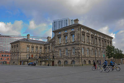 Photograph - Belfast Custom House by Steven Richman