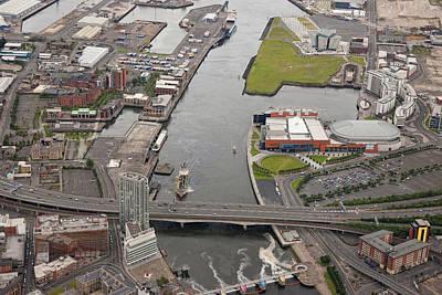 Belfast Docks, Belfast Art Print