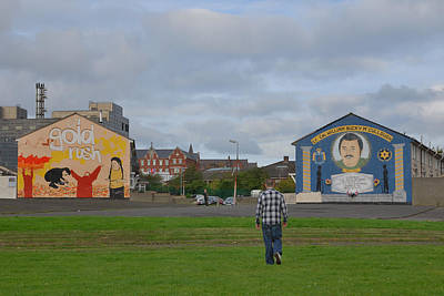 Photograph - Belfast Shankill Road by Steven Richman