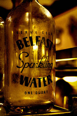 Belfast Sparkling Water Print by David Patterson