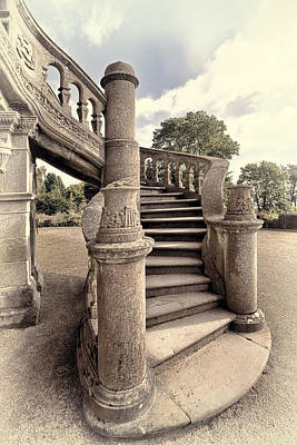 Antrim Photograph - Belfast Stairway by Marcia Colelli