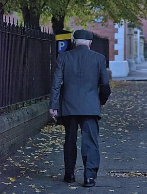 Photograph - Belfast Street Scene by Steven Richman