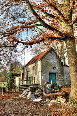 Photograph - Belgian Barn by Deborah Smolinske