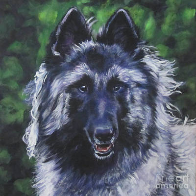 Painting - Belgian Tervuren by Lee Ann Shepard