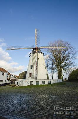 Belgium Photograph - Belgian Windmill by Deborah Smolinske