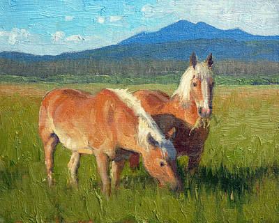 Het Painting - Belgians by Armand Cabrera