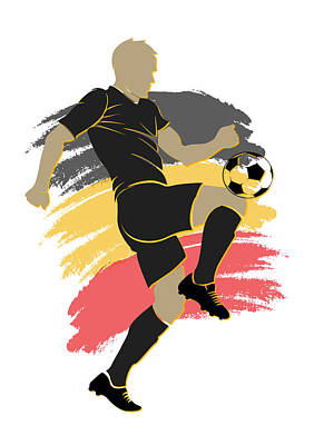 Belgium Photograph - Belgium Soccer Player by Joe Hamilton