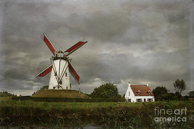 Photograph - Belgium Windmill by Juli Scalzi