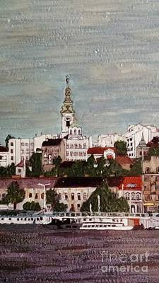 Belgrade Painting - Belgrade Detail by Jasna Gopic