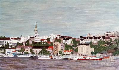 Belgrade Painting - Belgrade Serbia by Jasna Gopic